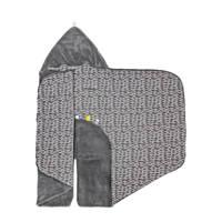 Snoozebaby wikkeldeken groep 0 frost grey 80x80 cm, Frost grey