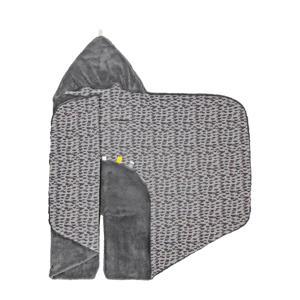 wikkeldeken groep 0 frost grey 80x80 cm