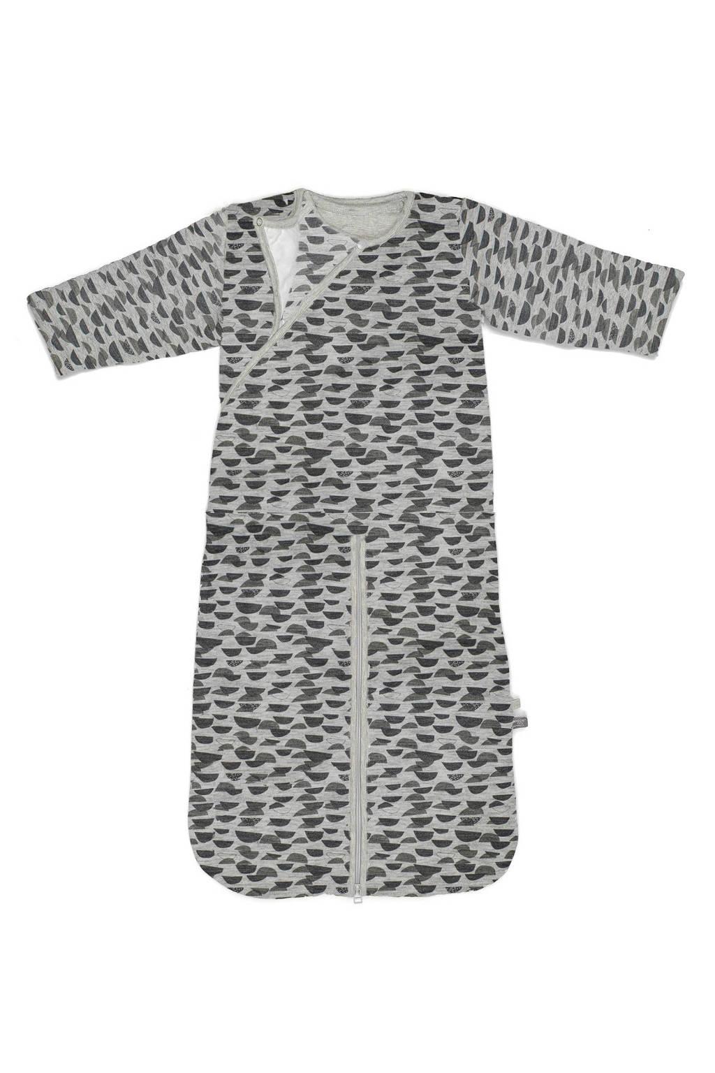 Snoozebaby baby slaapzak 4 seizonen 3-9 Frost Grey, 3-9 maand