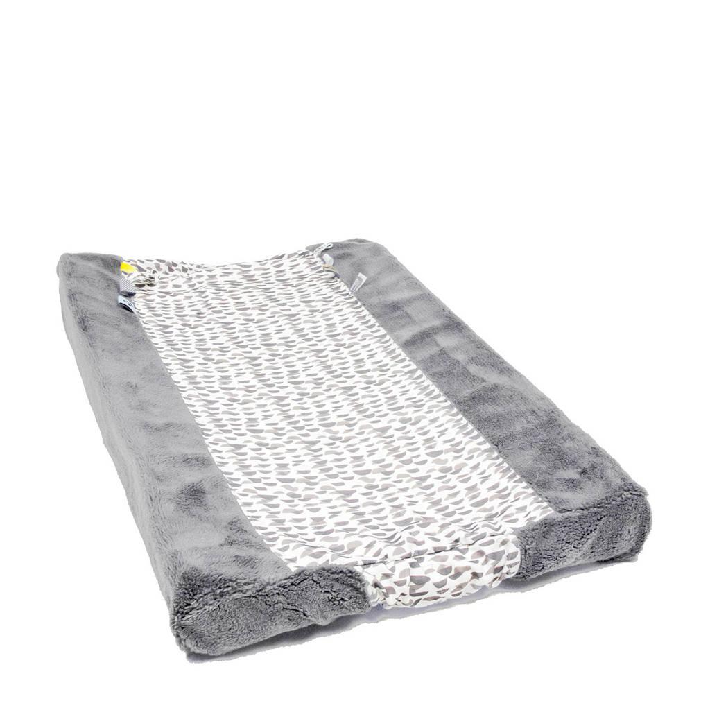 Snoozebaby aankleedkussenhoes frost grey 45x70 cm, Frost grey