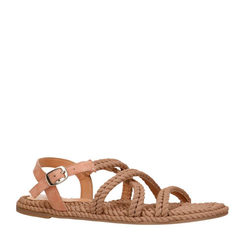 Manfield sandalen taupe