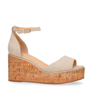 sandalettes beige