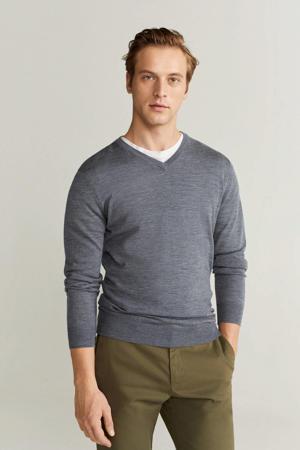 wollen trui grijs
