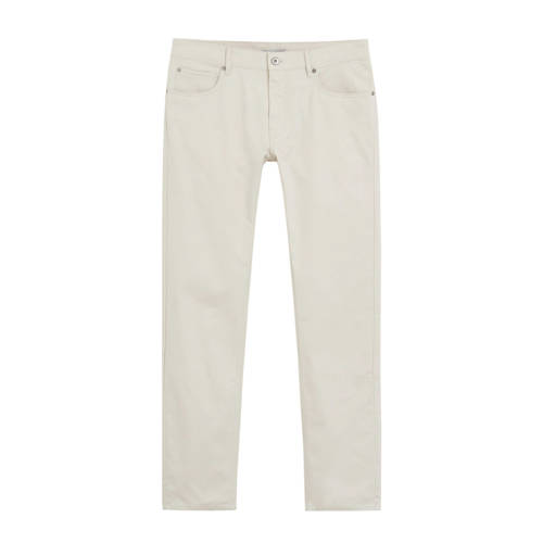 Mango Man slim fit pantalon lichtbeige