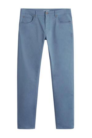 slim fit jeans middenblauw