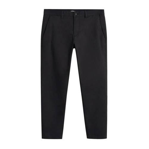 Mango Man slim fit pantalon zwart