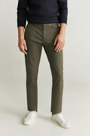 slim fit chino kaki