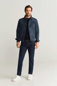 Mango Man spijkerjas changeant blauw