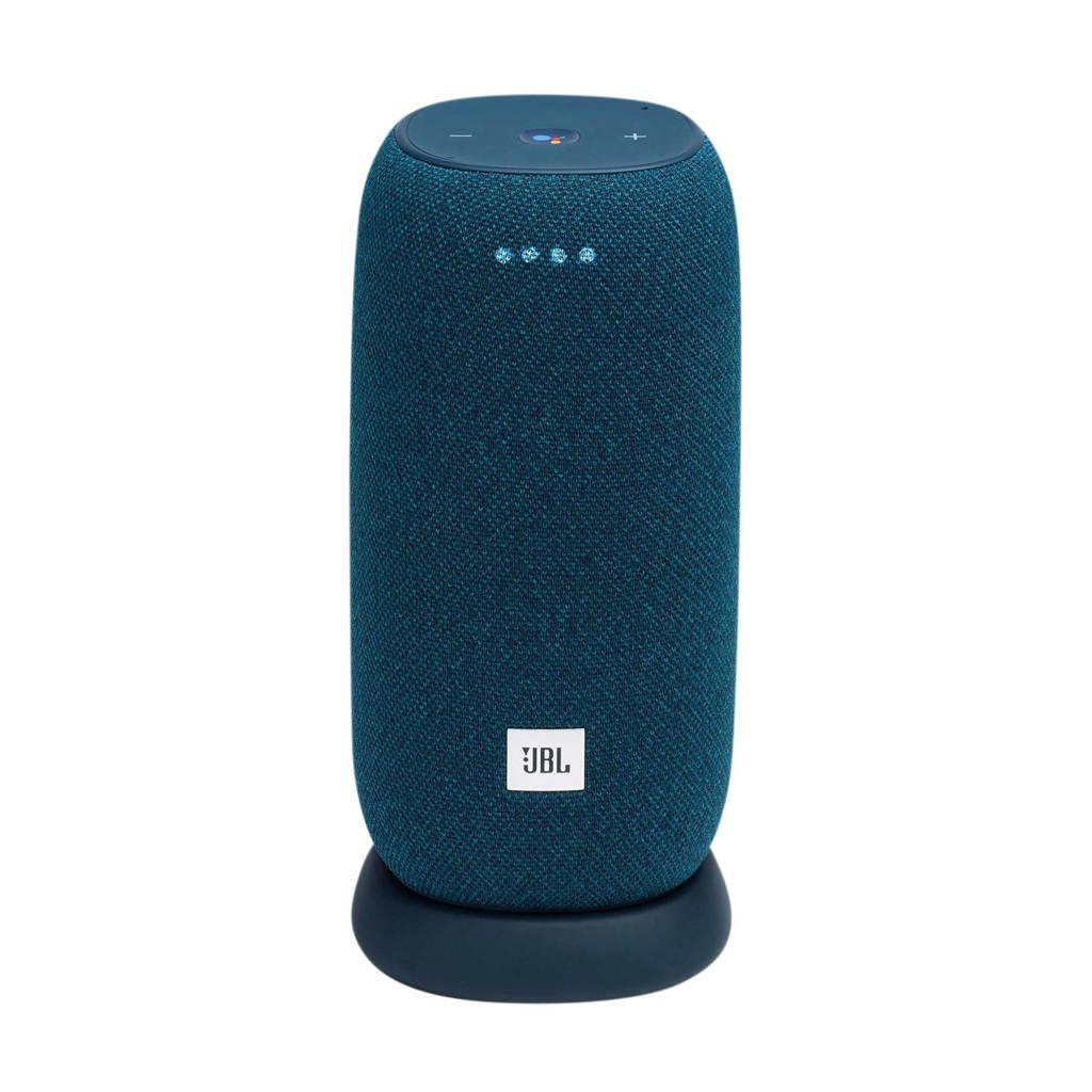 JBL Link Portable  Bluetooth Smart speaker (blauw), Blauw