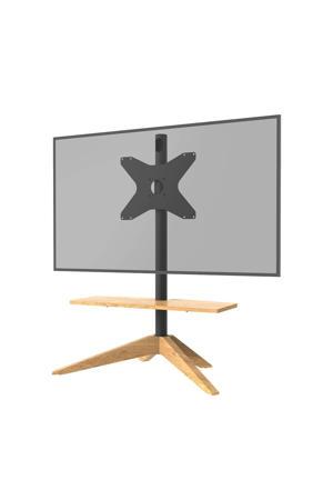 cross eikenhout vesa 300x400 draaibare 32''-65'' tv standaard