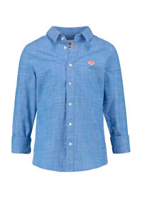 CKS KIDS overhemd Batan blauw, Blauw