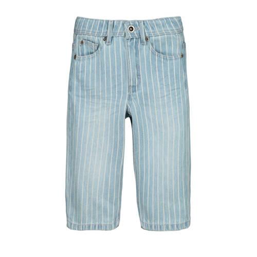 CKS KIDS gestreepte jeans bermuda Bariel bleach bl