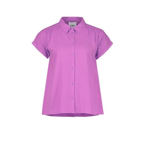 CKS blouse paars