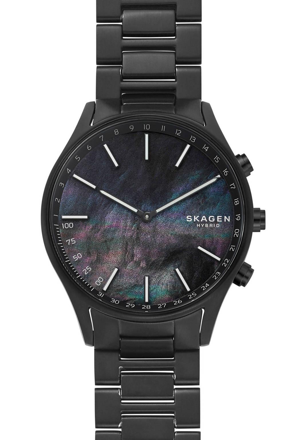 Skagen Holst heren Hybrid smartwatch SKT1312, Zwart