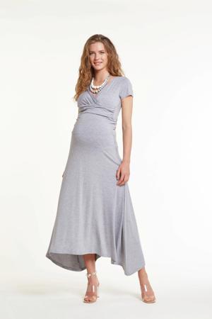 zwangerschapsrok Brazil grijs melange