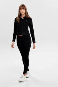 JACQUELINE DE YONG spijkerjasje JDYNEWWINNER zwart, Zwart