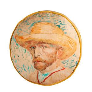 sierkussen Self Portrait (40x40 cm)