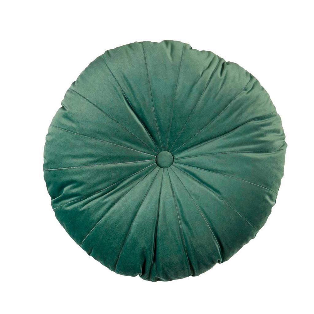 KAAT Amsterdam sierkussen Mandarin (40x40 cm), Grijs/groen