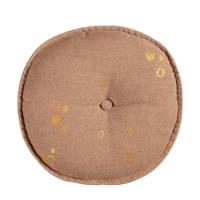 vtwonen sierkussen Dot Round  (40x40 cm), Zacht roze