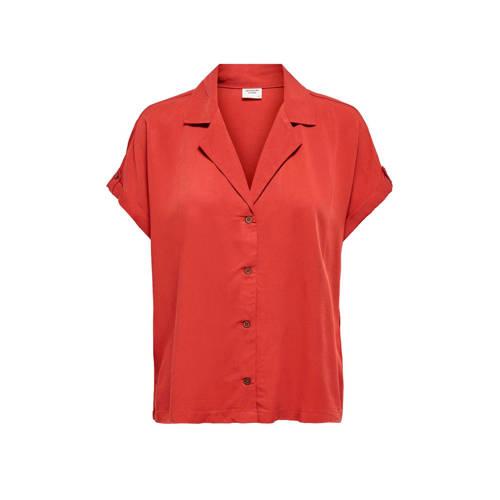JACQUELINE DE YONG blouse rood