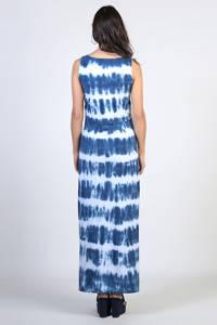ohma! tie-dye zwangerschaps- en voedingsjurk blauw/wit, Blauw/wit