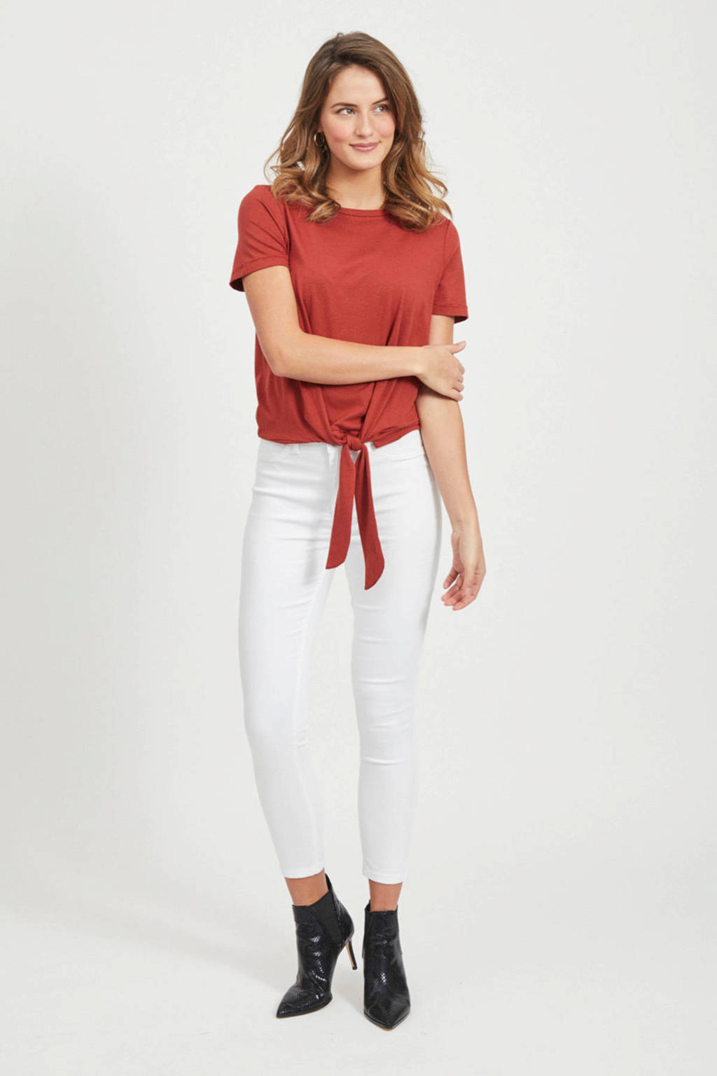 OBJECT T-shirt rood, Rood