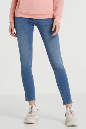 low waist skinny jeans D-Roisin blauw