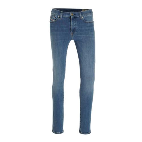 Diesel low waist skinny jeans D-Roisin blauw