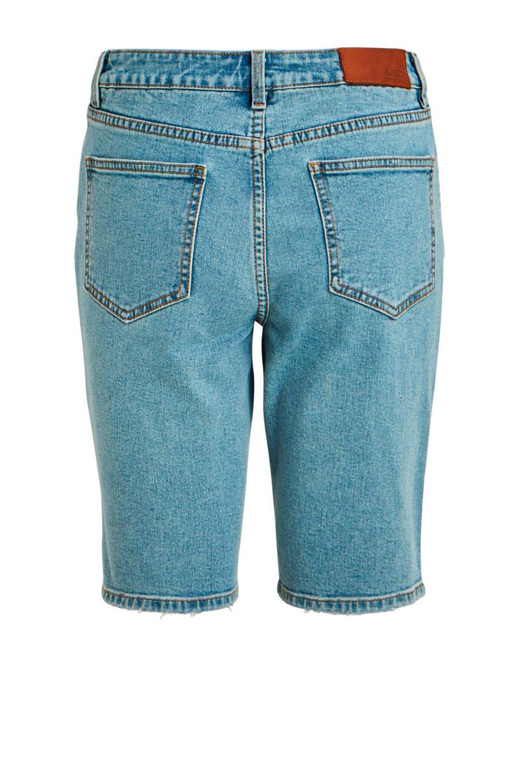 OBJECT jeans short blauw, Blauw