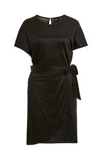 OBJECT jurk en ceintuur zwart, Zwart