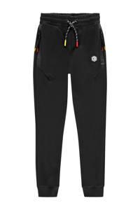 Vingino broek Daley Blind zwart/rood/geel, Zwart/rood/geel