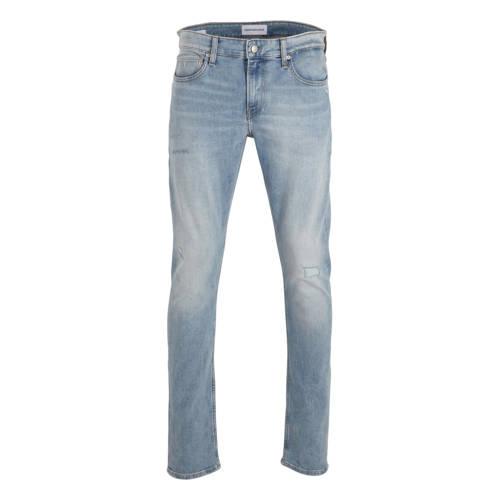 CALVIN KLEIN JEANS slim fit jeans BLEACHED BLUE DS