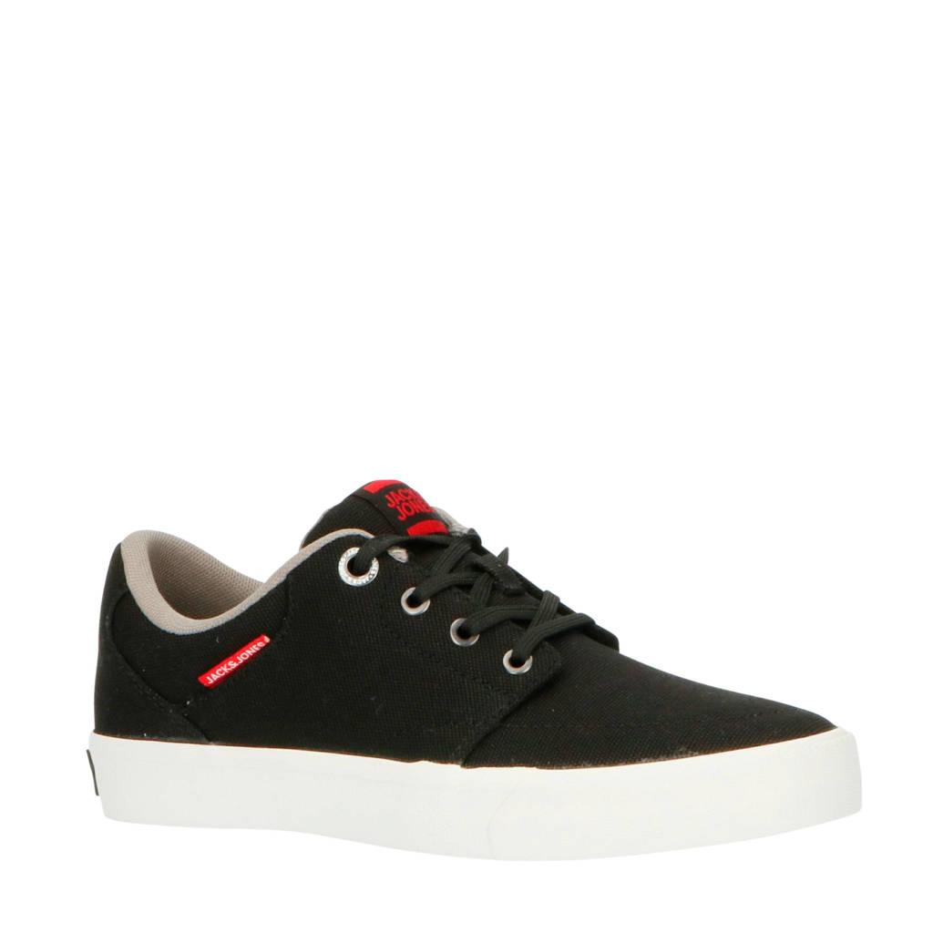 JACK & JONES JUNIOR   sneakers zwart, Zwart/grijs/rood