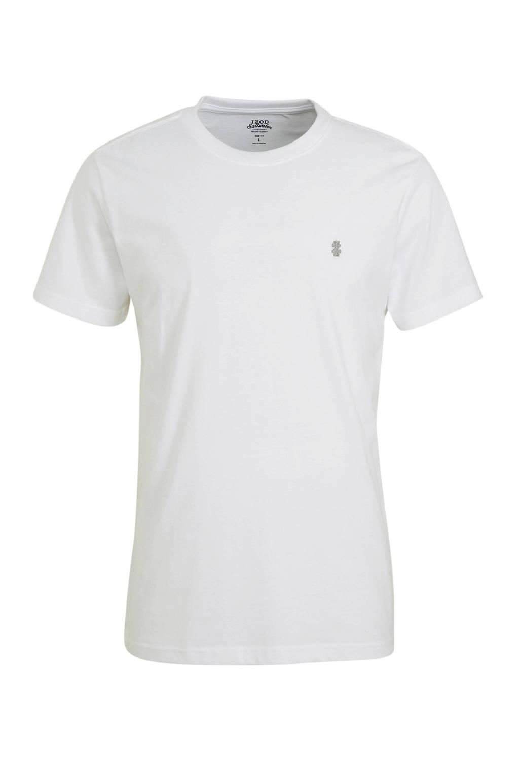 IZOD T-shirt wit, Wit
