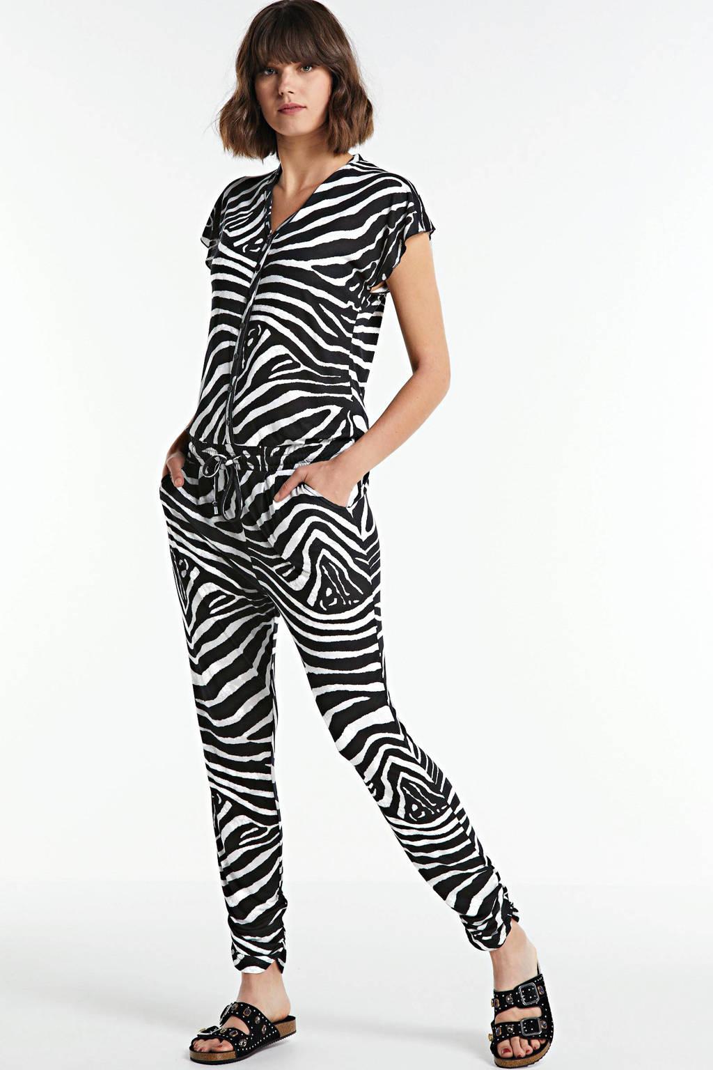 Geisha jumpsuit Jumpsuit AOP zwart/grijs, Zwart/grijs