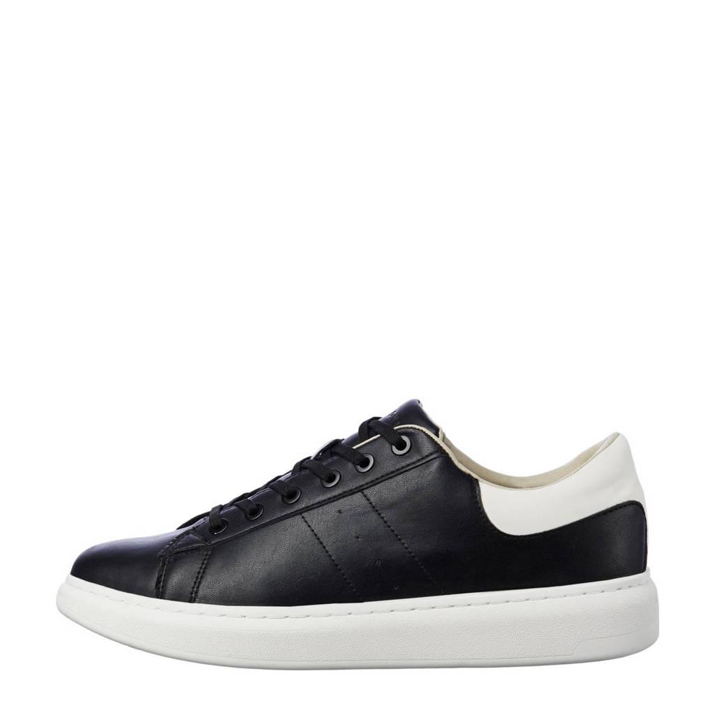 JACK & JONES   sneakers zwart/wit, Zwart/wit