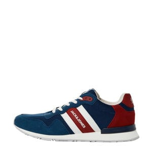 sneakers blauw/rood