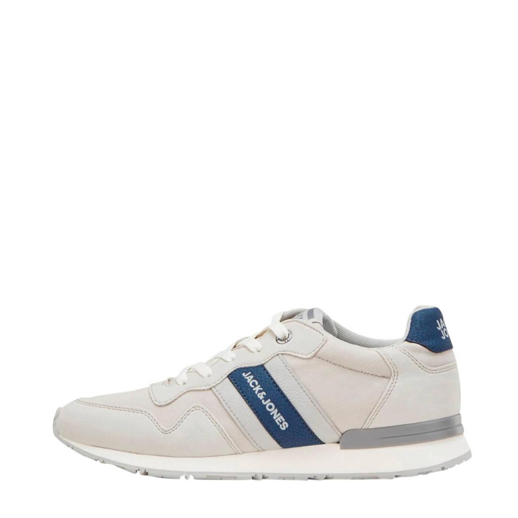 JACK & JONES JFWSTELLAR  sneakers beige/blauw, Beige/blauw
