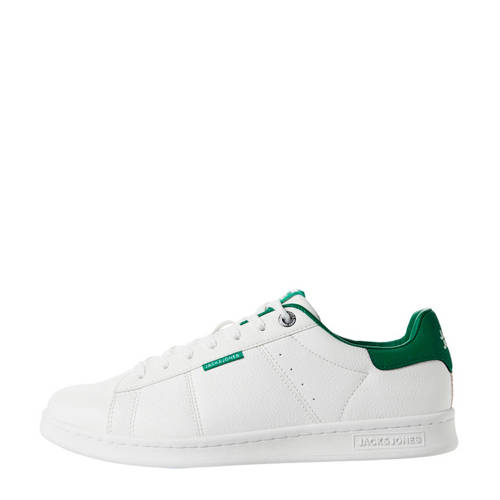 JACK & JONES sneakers wit/groen