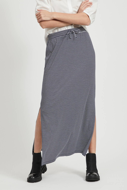 Uitgelezene OBJECT gestreepte rok blauw/wit | wehkamp AQ-34