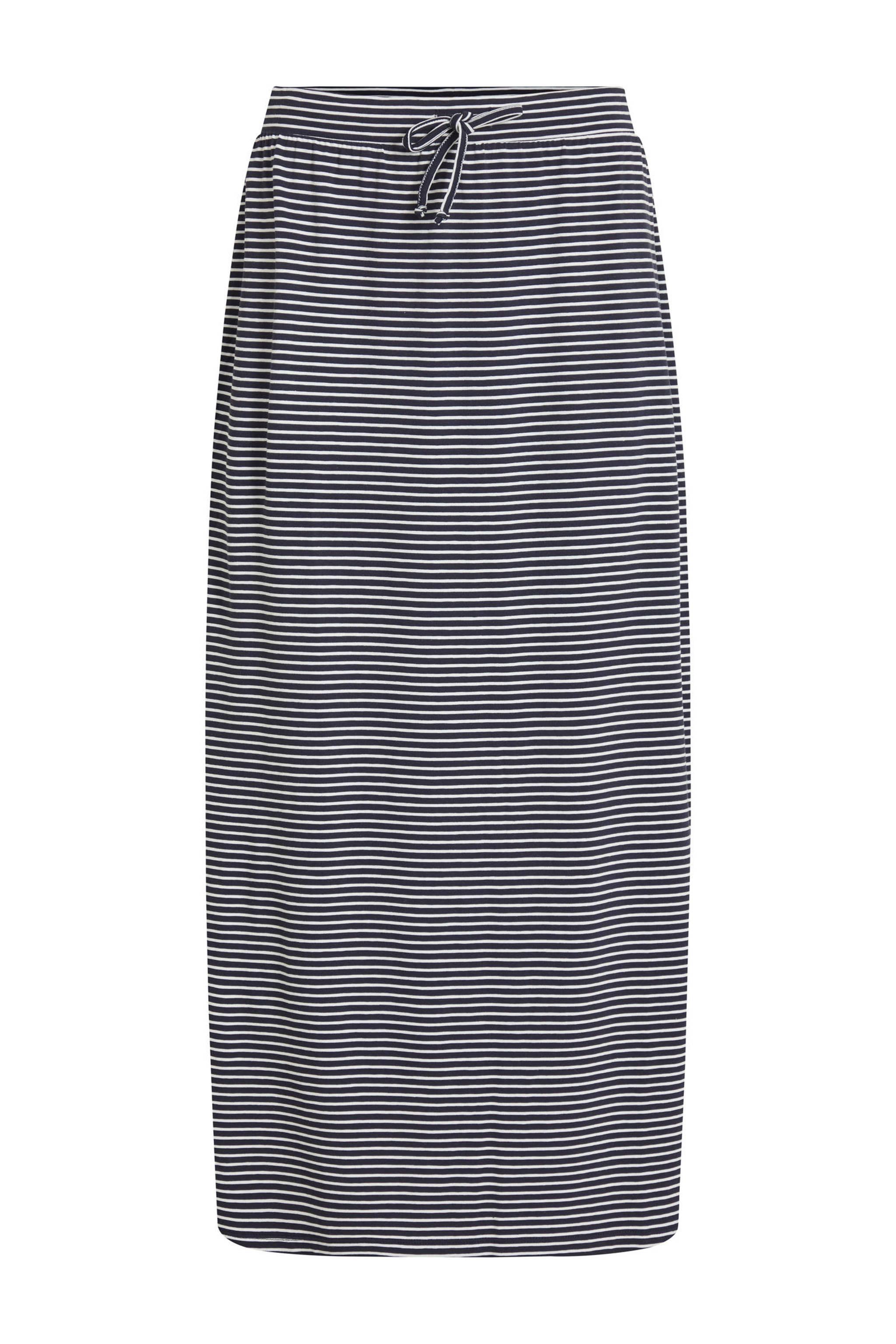 Verbazingwekkend OBJECT gestreepte rok blauw/wit | wehkamp EG-74