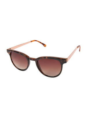 zonnebril Francis Metal bruin