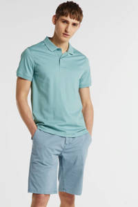 Tommy Hilfiger Tailored regular fit polo lichtgroen, Lichtgroen
