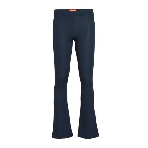 Vingino flared broek Stacy donkerblauw