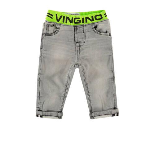 Vingino baby regular fit jeans Boet mini grijs den