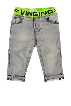 baby regular fit jeans Boet mini grijs denim