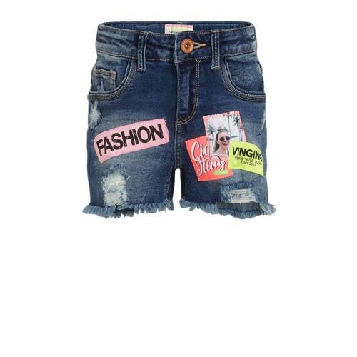Vingino jeans short Donna met patches old vintage