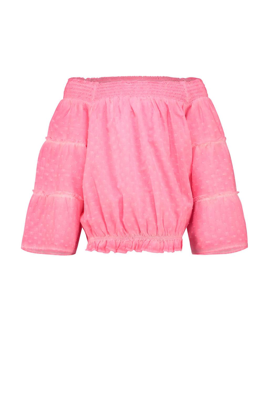 Vingino top Laila neon roze, Neon roze