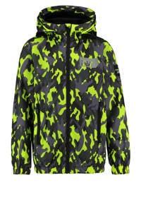 Vingino zomerjas Tarmy met camouflageprint neon geel/zwart/grijs, Neon geel/zwart/grijs