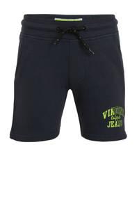 Vingino sweatshort Rexx met logo donkerblauw, Donkerblauw